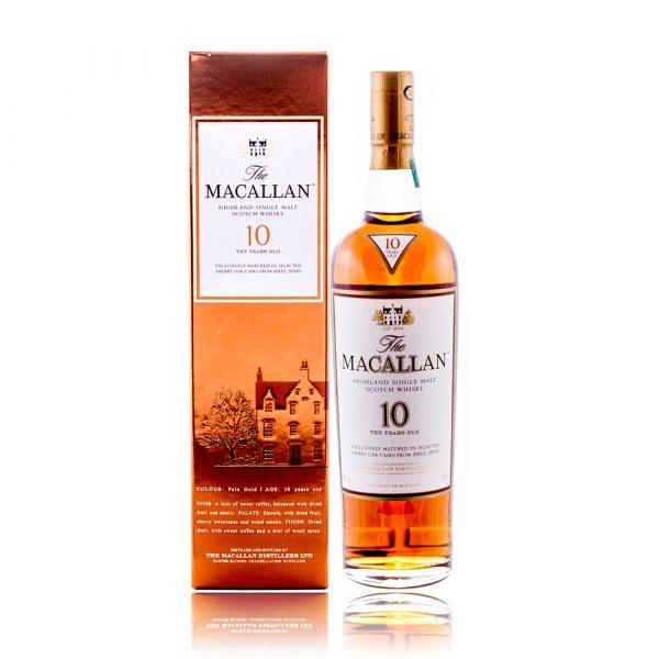 Macallan 10 Sherry Oak