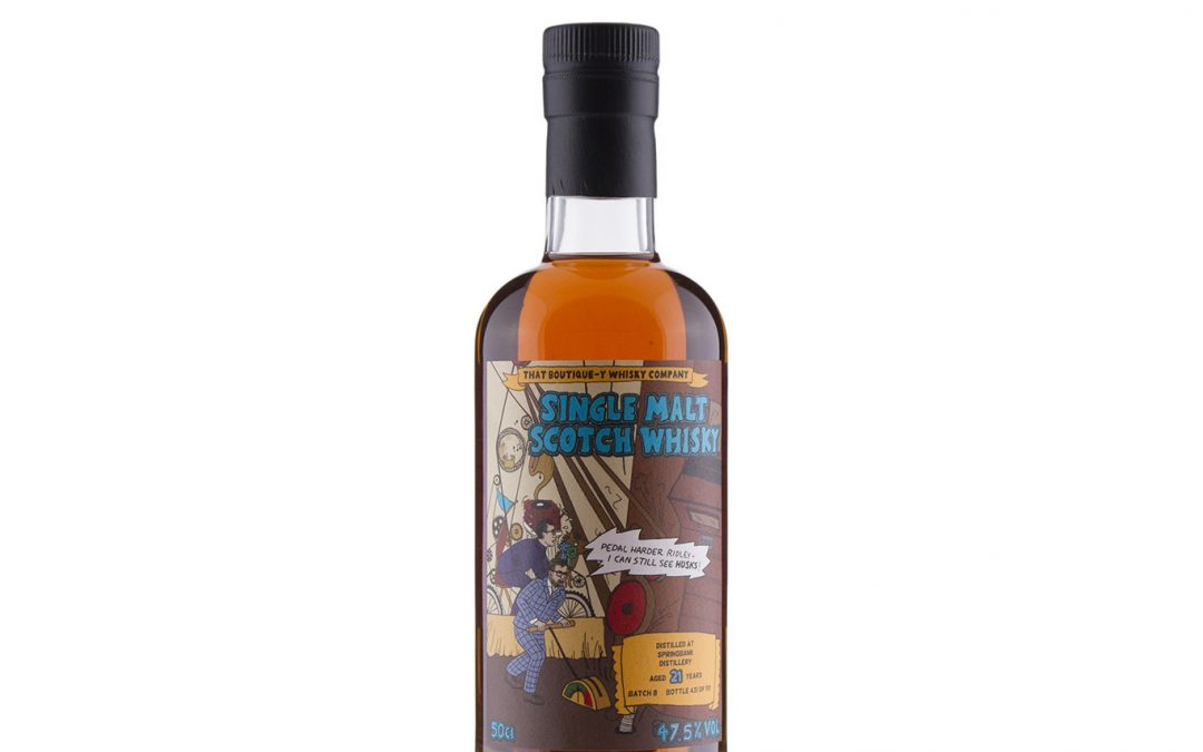 Springbank 21 Year Old (That Boutique-y Whisky Company) Batch 8