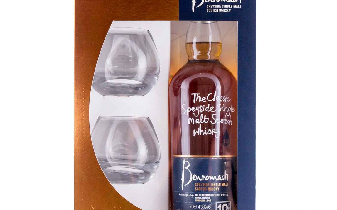 Benromach 10 Year Old Gift Set