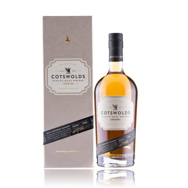 Cotsworld Single Malt Whisky 2014 Odyssey Barley