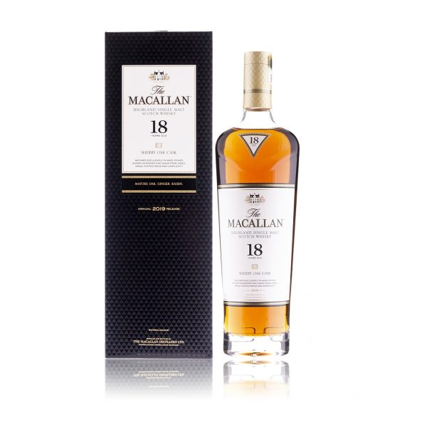 Macallan 18 Year Old Sherry Oak 2019