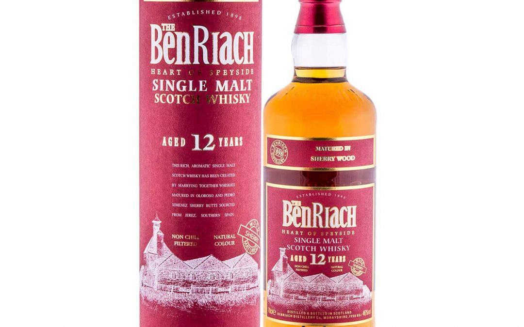 BenRiach 12 Year Old – Sherry Wood