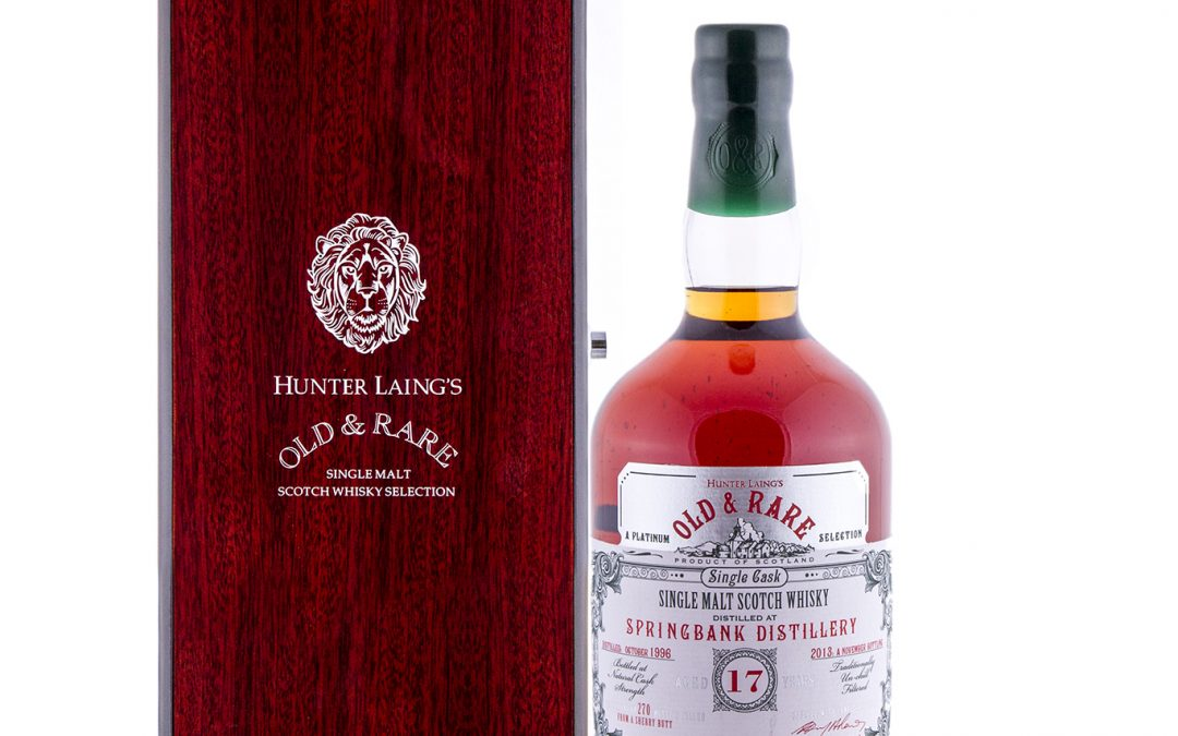 Hunters and Laing Old and Rare Springbank 17 bottled 2013