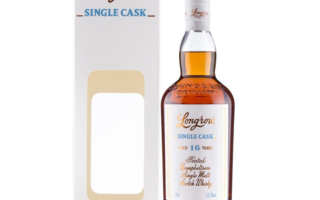 Longrow 2001 16 Year Old Single Cask – Chardonnay Matured