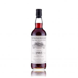 SPRINGBANK 1993 19 YEAR OLD PRIVATE CASK #329