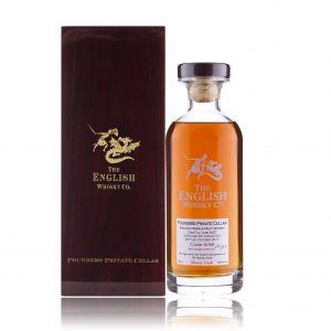 The English Whisky Co Founders Private Cellar 10YR (CASK 838) Sherry