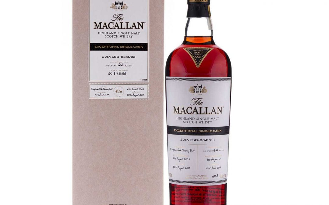 Macallan Exceptional Single Cask 2017/ESB-8841/03