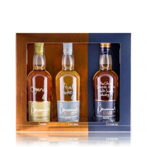 Benromach Trilogy Set - Peat Smoke, 10 Year Old and Organic