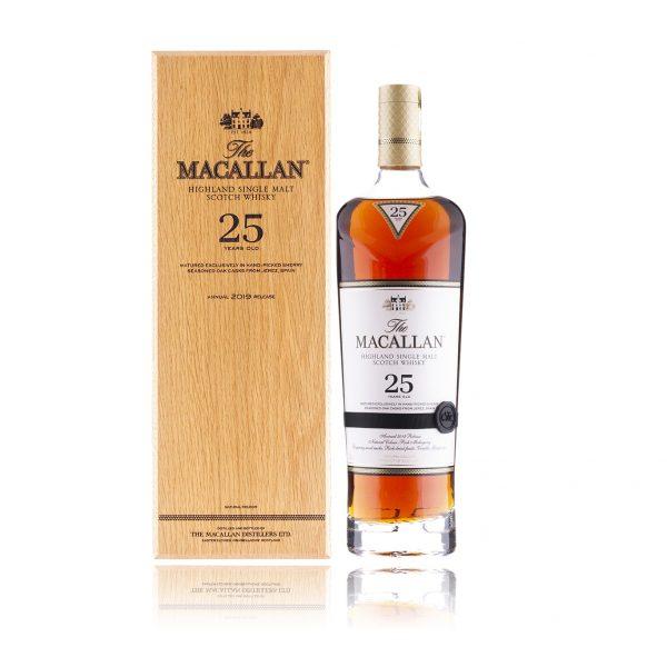 The Macallan 25 Year Old Sherry Oak (2019 Release)