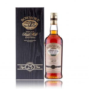 Bowmore 25 Old Bottle