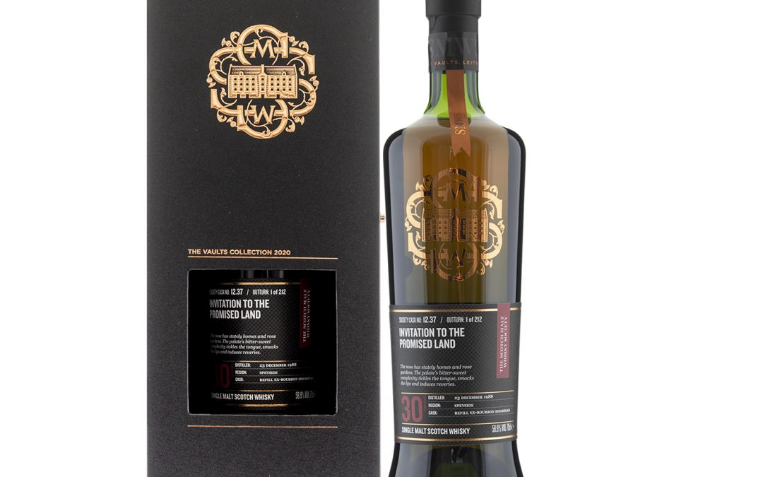 Benriach 30 Year Old SMWS 12.37 Invitation To The Promised Land
