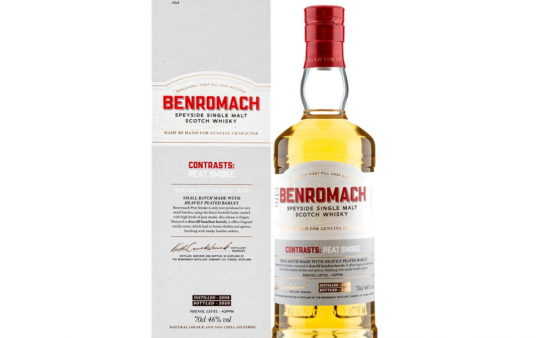 Benromach Contrasts – Peat Smoke – 2009 11 year old Whisky